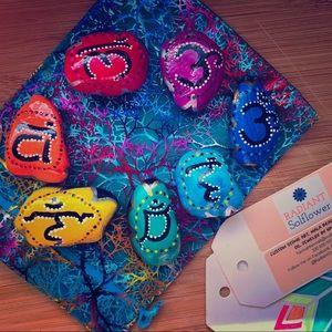 Accessories - PocketSized Hand Painted Chakra Healing Stones